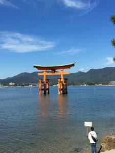 広島の安芸の宮島