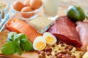 タンパク質含む食材