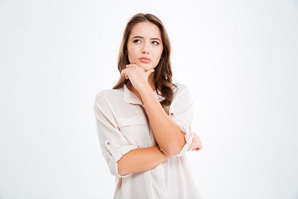 痩身マシン疑問に思う女性