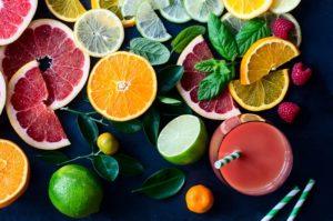 ビタミン並ぶシミ対策